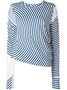 полосатая блузка Mm6 Maison Margiela