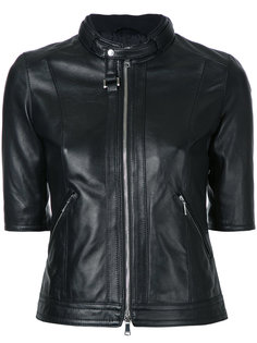 куртка на молнии с укороченными рукавами Loveless