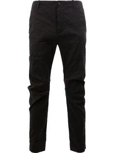 брюки с мятым эффектом Uma Wang