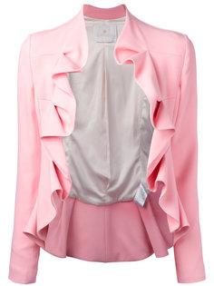 пиджак с рюшами Giacca  Capucci
