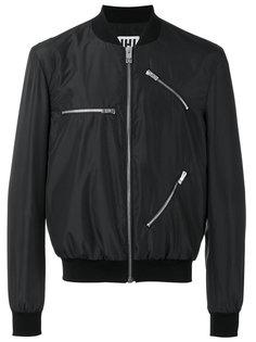 zip detail bomber jacket  Les Hommes Urban