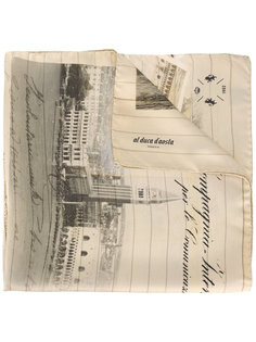 printed scarf Al Duca D'Aosta 1902
