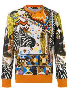 multi printed sweatshirt  Etro