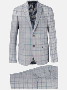 checked formal suit  Etro