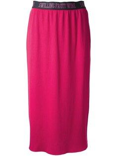 прямая юбка с эластичным поясом Muveil