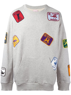 multi patched sweatshirt  Palm Angels