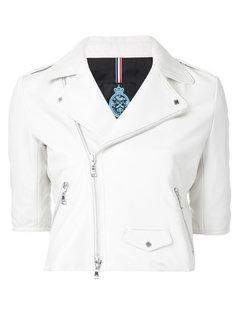 cropped biker jacket Guild Prime
