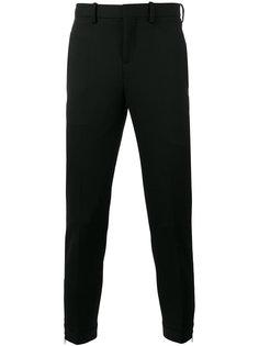 классические брюки с молниями Neil Barrett