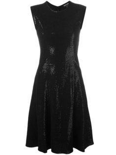 расклешенное платье с пайетками Abito  Giorgio Armani