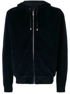 logo hooded sweatshirt Versace