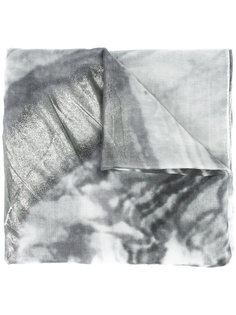 шарф с эффектом металлик Brunello Cucinelli