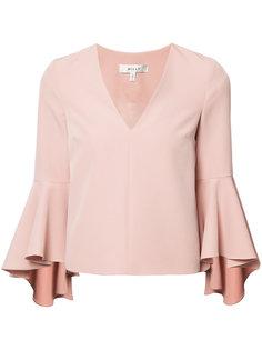 блузка с рукавами-колокол Milly