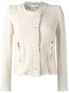 укороченный пиджак без воротника Iro