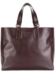 сумка с тиснением логотипа Lanvin