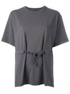 футболка с завязкой на талии Joseph