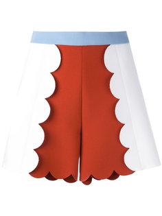 шорты в стиле колор-блок MSGM