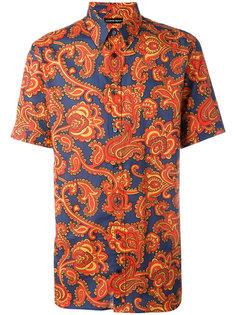 рубашка с узором пейсли Alexander McQueen