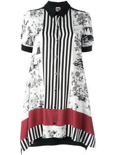 рубашка с короткими рукавами и комбинированным принтом IM Isola Marras