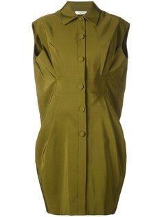 платье на пуговицах Lanvin