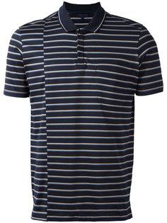 рубашка-поло в полоску Lanvin