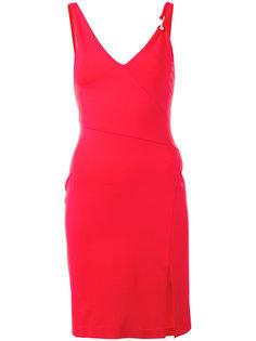 платье с V-образным вырезом Versus