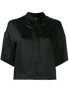 укороченная блузка с завязками Diesel