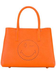 сумка-тоут Smiley Face Anya Hindmarch