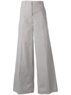 расклешенные брюки с контрастными панелями Ports 1961