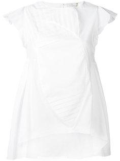 """асимметричная блузка кроя """"оригами"""" Capucci"""
