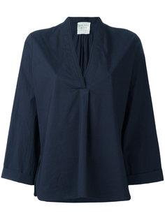 блузка с V-образным вырезом Forte Forte