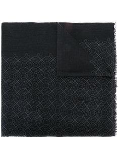 шарф с бахромой Brioni