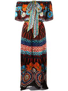 платье с цветочным принтом Temperley London