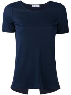футболка с диагональным разрезом сзади Dondup