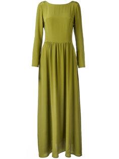 длинное шелковое платье  Ultràchic