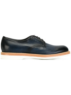 классические ботинки Дерби  Santoni