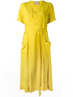 платье с V-образным вырезом Erika Cavallini