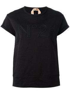 футболка с открытой спиной Nº21