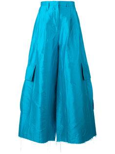 расклешенные брюки Marquesalmeida