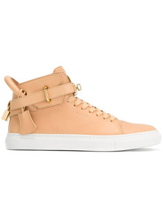 buckled hi-top sneakers  Buscemi