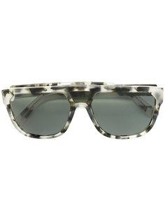 square frame sunglasses  Wesc