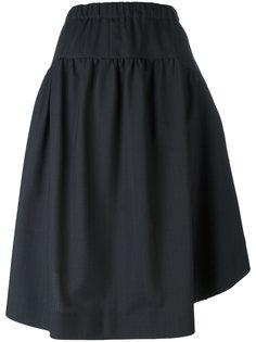 расклешенная юбка в тонкую полоску Comme Des Garçons Comme Des Garçons