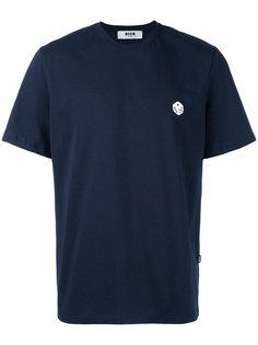 футболка с принтом игральной кости MSGM