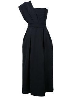 one shoulder evening dress  Preen By Thornton Bregazzi