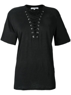 футболка со шнуровкой Iro
