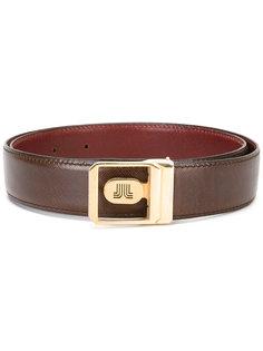 logo buckle belt Lanvin Vintage