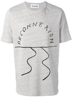 футболка Deconnexion  Études