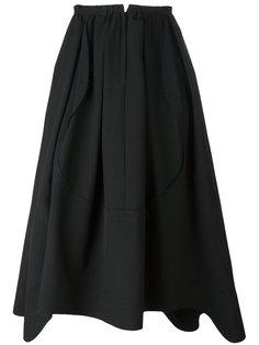 юбка с волнистым подолом Comme Des Garçons Comme Des Garçons