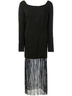 fringed dress Dolce & Gabbana Vintage