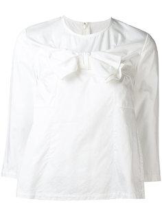 блузка с бантом спереди Comme Des Garçons Comme Des Garçons