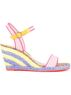 buckled wedge sandals Sophia Webster